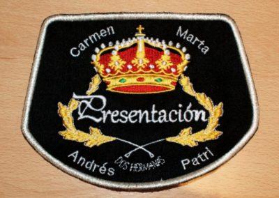 Manopla Corneta Presentacion Sevilla