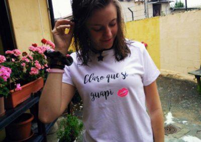 Camiseta Claro que si guapi Elisa