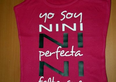 Camiseta Yo soy nini rosa
