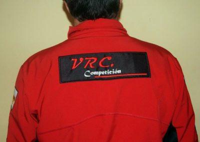 Cazadora Rene - VRC Competicion Espalda 2