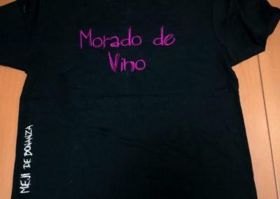 Meji - Camiseta morado de vino 1