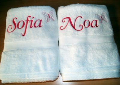 Toallas NOa y SOfia 2